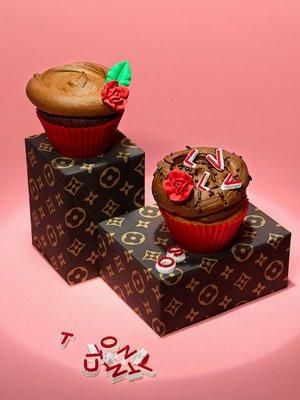 L Vuitton Cupcake