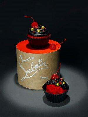 Louboutin Cupcake